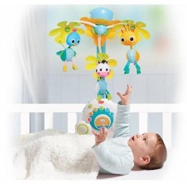 Какой мобиль лучше для новорожденного, с какого возраста его можно вешать на кроватку?