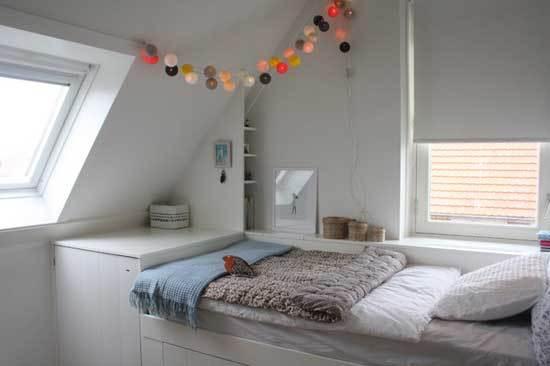 Дизайн детской комнаты на мансардном этаже: оформление интерьера для девочек и мальчиков с фото