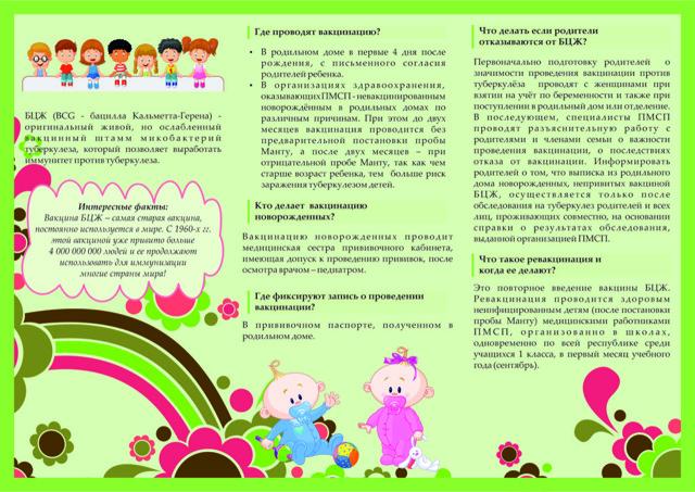 Прививка БЦЖ новорожденным и детям 7 лет: расшифровка, реакция в норме, последствия и осложнения
